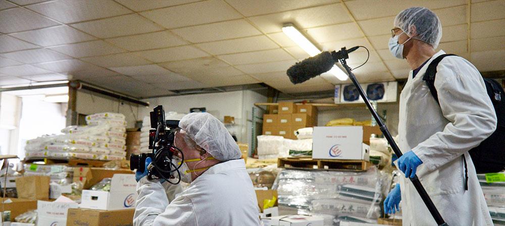 coronavirus video production